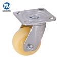 Rueda giratoria de PP de 4 pulgadas para uso industrial