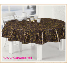 PVC Printed Tablecloth on Rolls China Factory