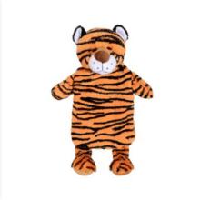 Симпатичная тигровая плюшевая подушка