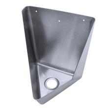 Utilitário de aço inoxidável parede montado vaso sanitário de aço inoxidável masculino mictório