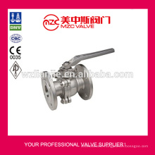 2PC Flanged Ball Valve 150LB Ball Valve Price