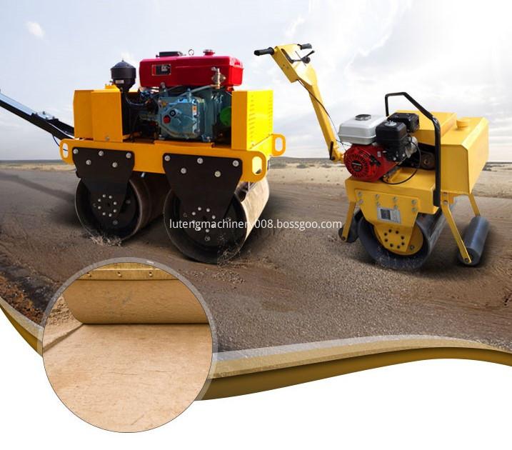 Vibratory Road Roller Models.