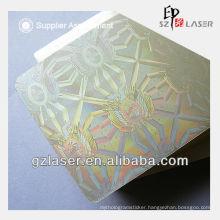 Hologram atm card pouch