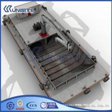 Barcaza de dragado personalizada de alta calidad para la venta (USA3-014)