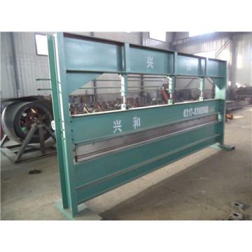Máquina de dobra CNC placa hidráulica