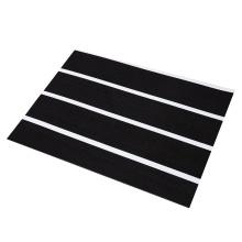 2021 new design stripe anti dew dark sheet boat  flooring carpet synthetic teak decking marine