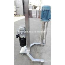 Vente chaude ss304 mobile mulser hydraulique
