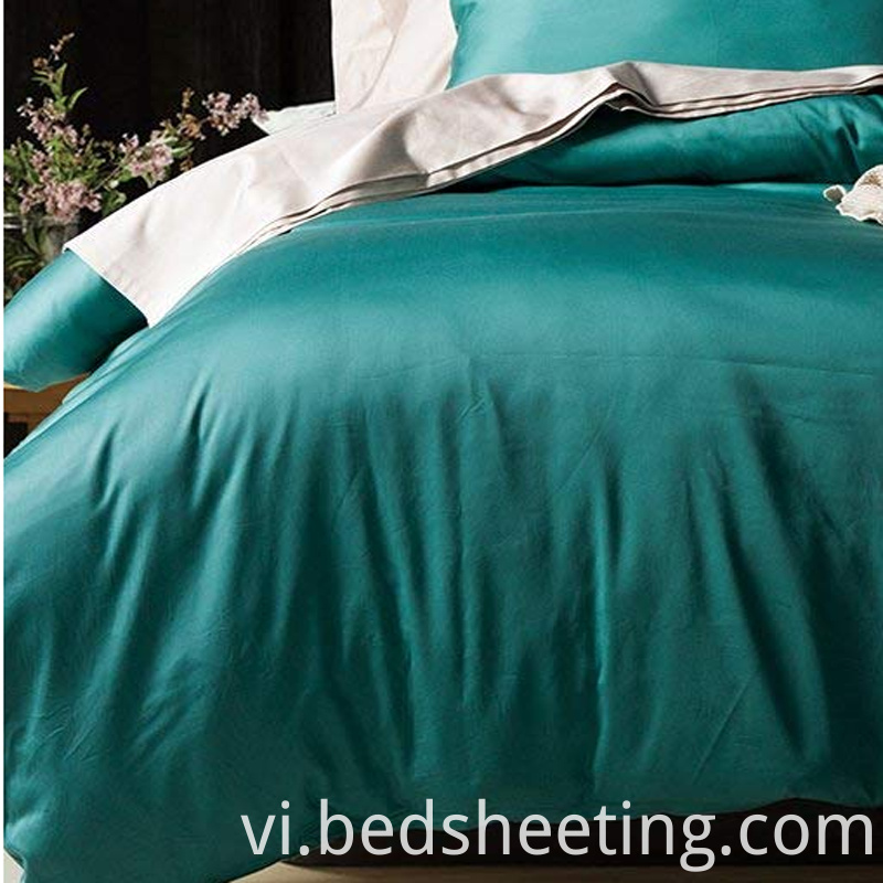 Cotton Blend Sateen Duvet Cover