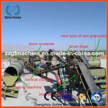 Fábrica de fabricação de fertilizantes orgânicos da China