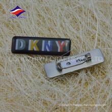 Le fabricant de badge offre un badge divers de cusotm metal nouveauté
