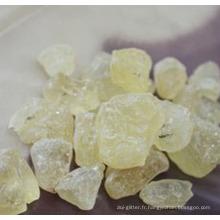 Damar naturel de gomme de résine de haute pureté de Dammar pour l'emballage alimentaire en cire d'abeille