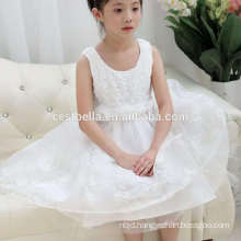 White Communion Dresses For Girls 2016 Lace Infant Pageant Flower Girl Dresses for Weddings and Christmas Party