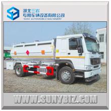 Sinotruk HOWO 290HP 15000L Diesel Camión Cisterna