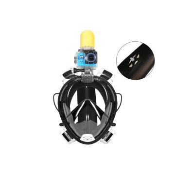 Máscara de buceo para adultos de silicona de colores opcionales