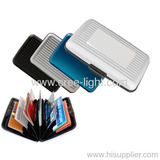 Hot Sell New Design Fashion Gift Aluminum Wallet Ack-aw003