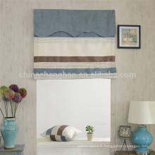 Home decor style country stripe chaîne manuelle roman stores avec piste