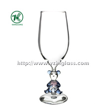 Single Wall Wine Glass by SGS (dia7.5*21)