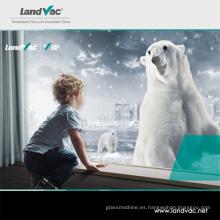 Landvac Low Price Ocean Blue Vacuum Super Glass para el hospital escolar Bulidings