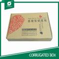 Papel de regalo de venta caliente Papel de embalaje de caja para cajas de envío
