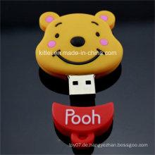 Mini nettes Silikon USB-Hafen-Briefpapier Plastikspielzeug ICTI