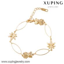 xuping alibaba оптовой Саудовской Аравии золотые ювелирные изделия браслет