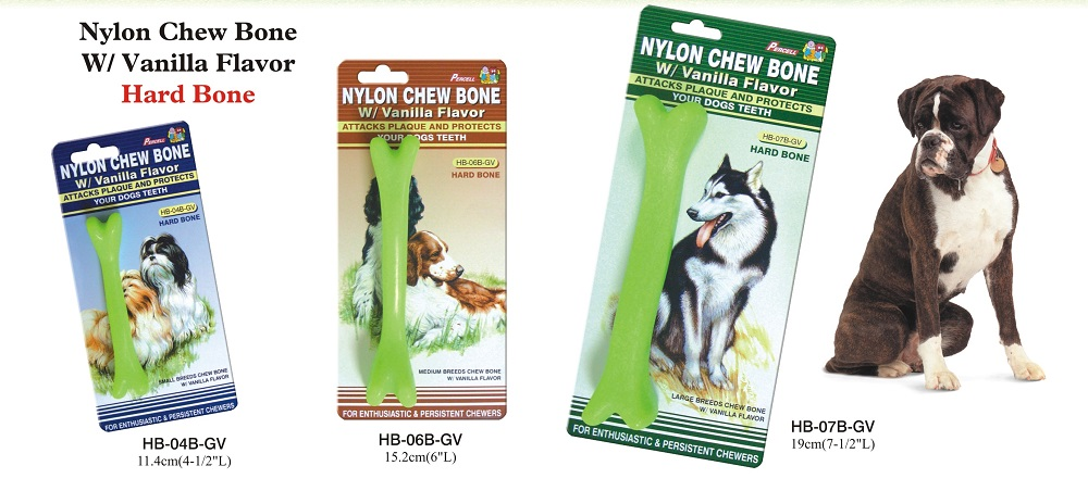 Nylon Chew Bone Toy With Vanilla Scent
