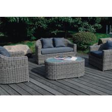 Garden Outdoor Furniture Rattan Patio Wicker Lounge Sofa Set