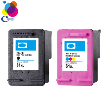 New! compatible color refill ink cartridge for HP61(CH561WN) for HP Deskjet 1000 series printers made in china
