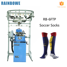Cheap price sports toe hosiery soccer electric sock knitting machines for manufacturing nylon socks in china