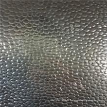 3004 bobine en aluminium gravé en caoutchouc