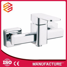 High quality exposed brass shower faucet bath and shower mixer