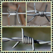 2015 Spring Canton Fair Galvanized/PVC Barbed Wire with high quality(factory ISO9001)