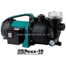 (SDP600-13) Aspersor de jardín de alta presión bomba utilidad con manguera y filtro de agua