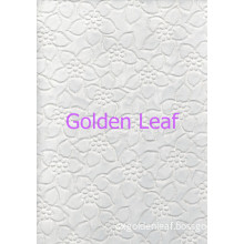 Flat Embroidery Organza Ground Fabric Ful Pattern Px10042