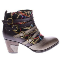Go West High Quality Leather Ankle Boots for Women