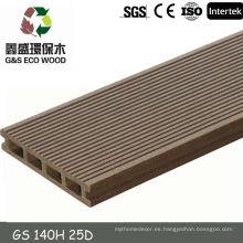 Gswpc wpc piso y madera panel compuesto de plástico para el muelle del puerto deportivo