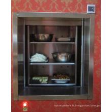 L'ascenseur Dumbwaiter chinois fabrique pour le service alimentaire
