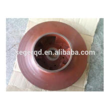 custom casting impeller pump parts