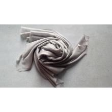 Châle à chevrons en laine mercerisée de haute qualité