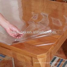 Прозрачный лист ПВХ стол