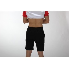 Black ladies cotton shorts