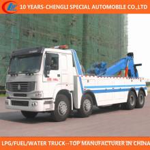 Wrecker Trcuk do caminhão 8X4 do salvamento de 12 rodas para a venda