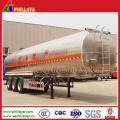 3 Axle Aluminum 45m3 Fuel Tank Semi Trailer