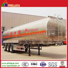 3 Axle Aluminum 45m3 Fuel Tank Semi Trailer