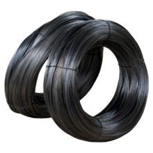 Fil de reliure de fer en acier recuit noir