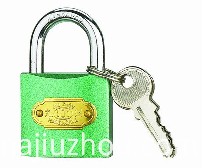 25 MM Colour Iron Padlocks
