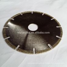 Marmor Granit Schärfen Werkzeuge Winkel Sägeblatt
