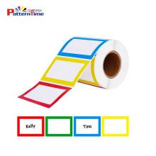 Wrap Around Label Sheet Roll Sticker Product Blank Premium Matte