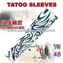 2016 manches de tatouage en nylon à chaud