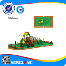 Комбинированный Тип Слайдера Пластик Playgtound Оборудования